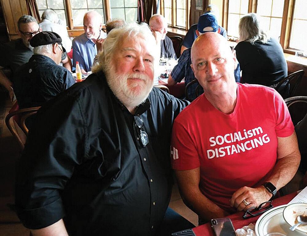 Brian Mason and Gary Chapman