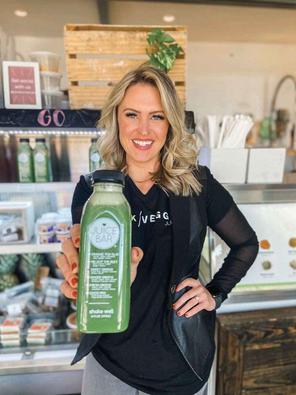 I Love Juice Bar's Sweet Greens juice is one of its most popular and recommended for people who are just beginning to incorporate juices into their lifestyles