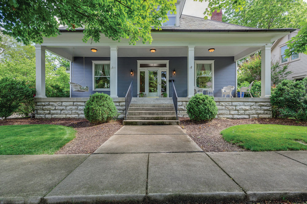 This home for sale is a hidden gem at 510 South Margin Street in the heart of downtown Franklin