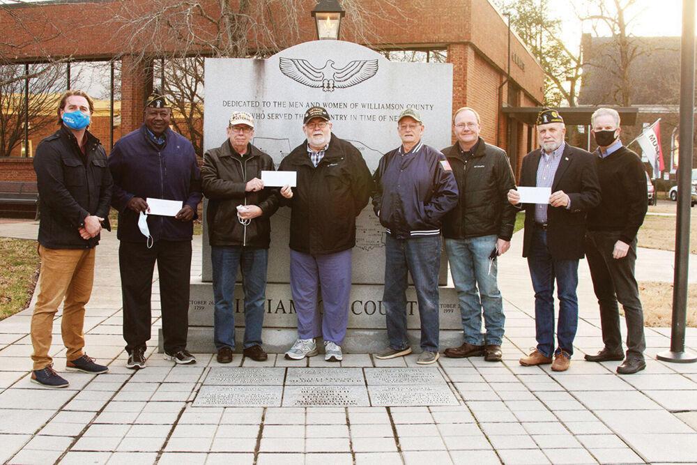 Downtown Franklin Rotary Club to Vietnam Veterans Association