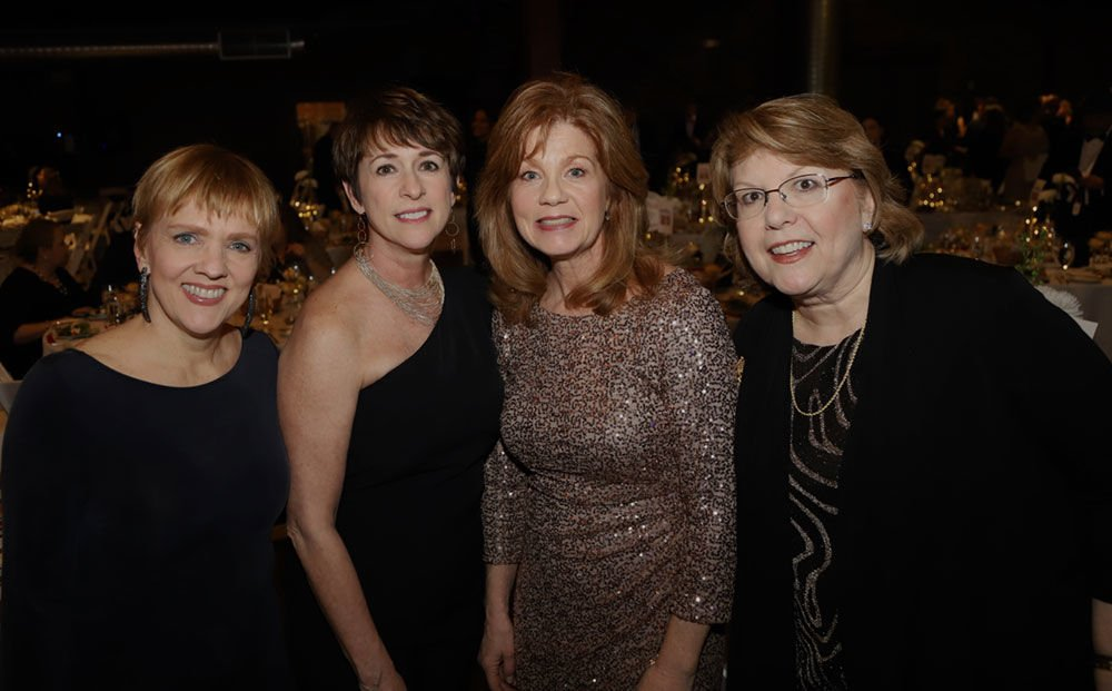 From left: Stephanie Keffer, Sherri West, Lynne Wills and Susan Leathers