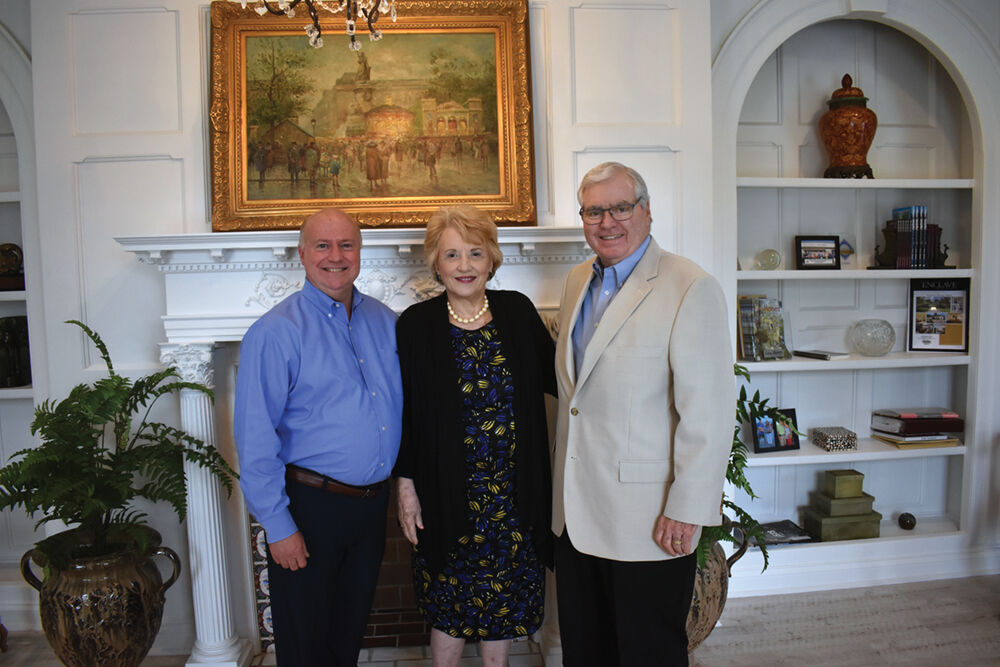 Tommy McArthur, Jr. and Mamie and Brent Sanders
