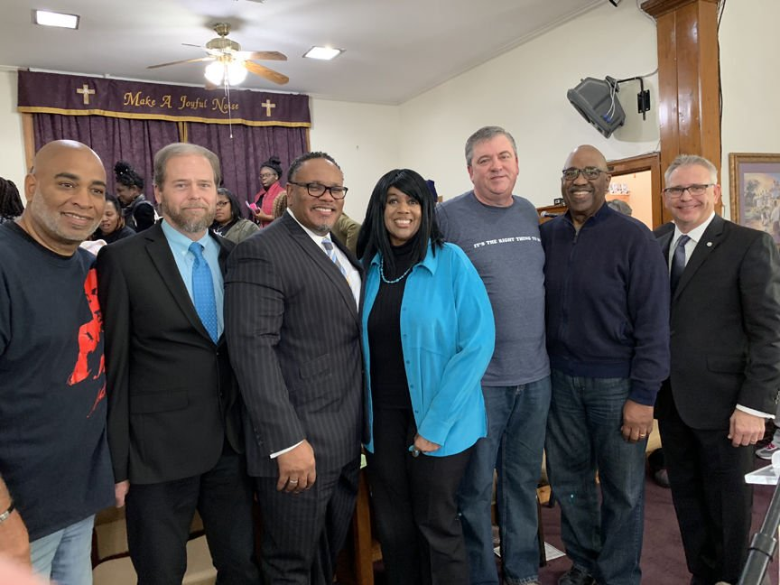 Timothy Gaines, Eric Jacobson, Chris Williamson, Alma McClemore, Kevin Riggs, Hewitt Sawyers and Dr. Charlie Weir