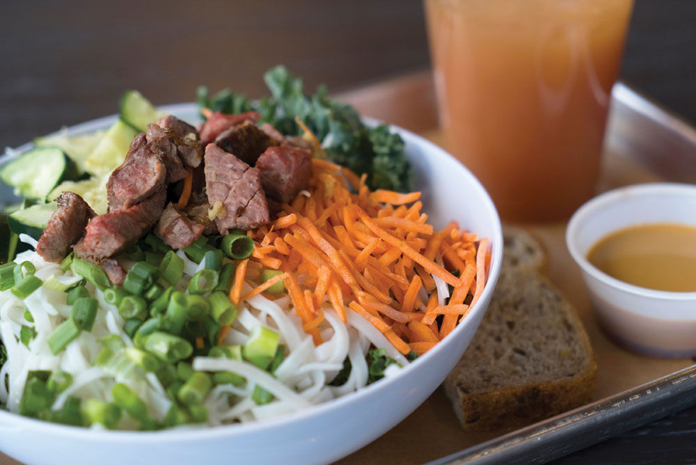 Spicy Ginger Steak & Rice Noodle