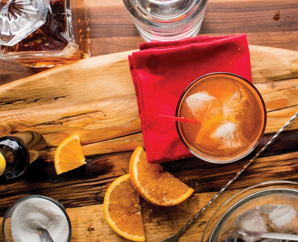 Bourbon Orange Tea