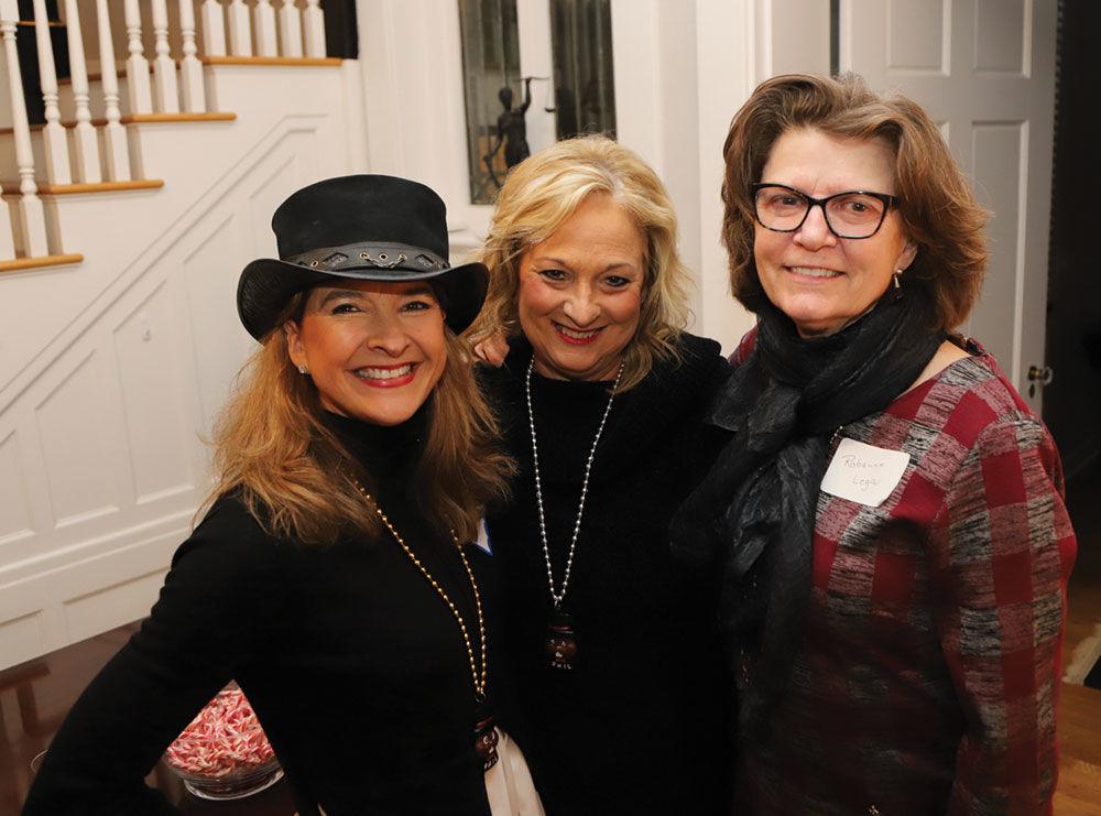 Alison Turner, Dawn Dietrich and Robanne Legan