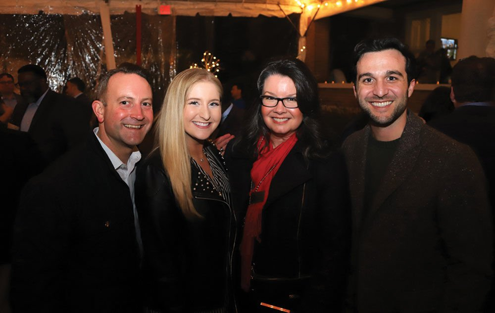 Bryan Doleshel, Katie Rysiewicz, Jill Burgin and Drew Allensworth