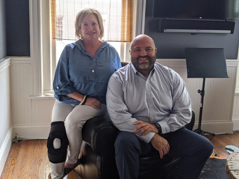 Jennifer Bickerstaff and Jordan Vaughn