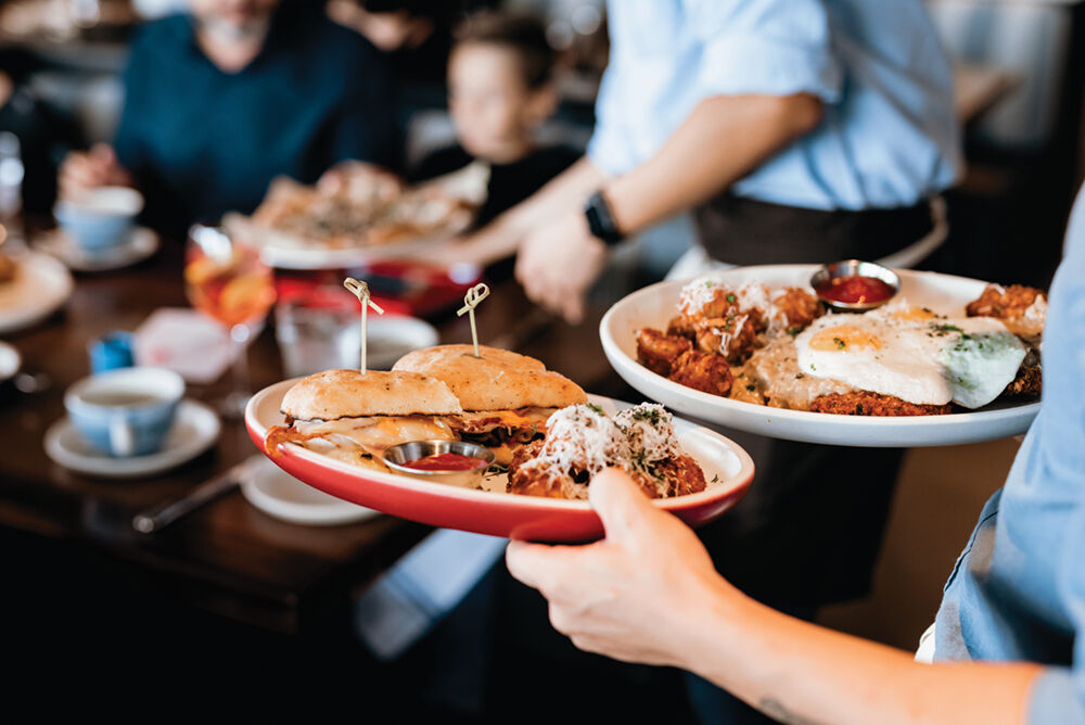 Brunch is offered at North Italia on Saturday and Sunday