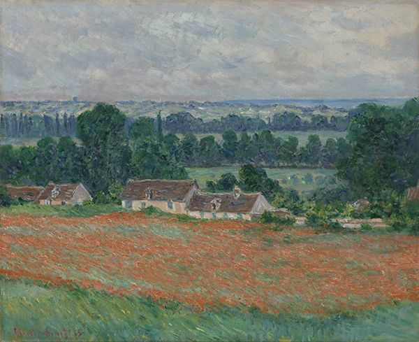 Claude Monet (French, 1840–1926). Field of Poppies, Giverny, 1885.tif