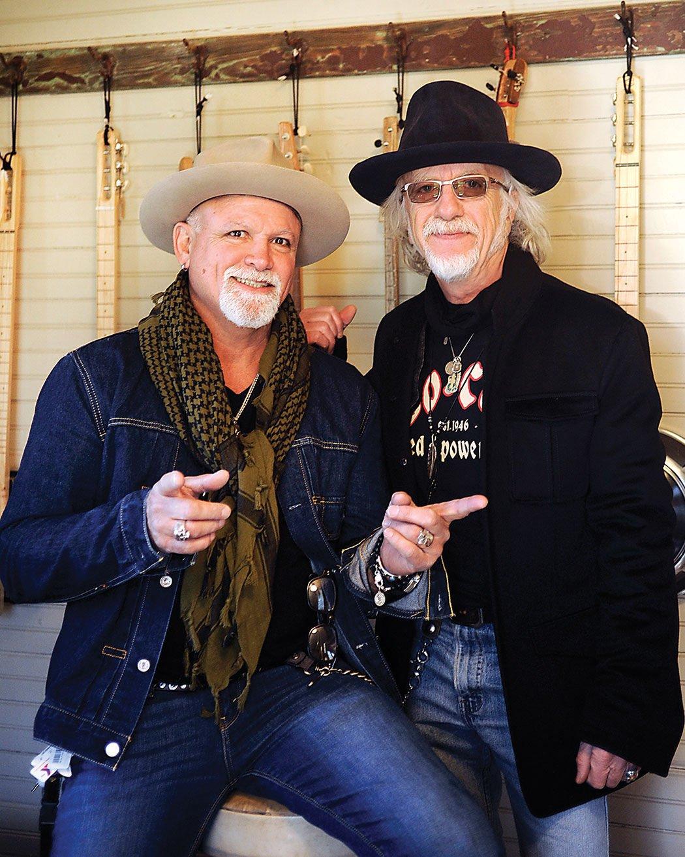 Brad Whitford and Derek St. Holmes