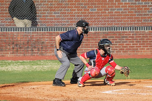 Connor Smith played both catcher and  centerfield for the Brentwood Academy Eagles.