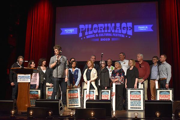 Pilgrimge Founders honor partners in the community.JPG