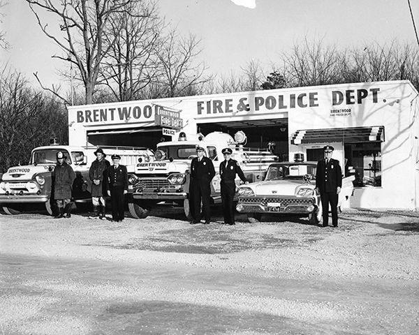 Brentwood Fire and Police Department, circa 1960