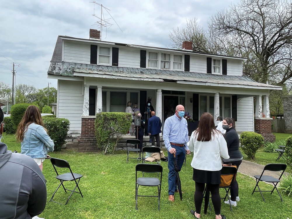 The Historic Merrill Williams House will be preserved by the African American Heritage Society