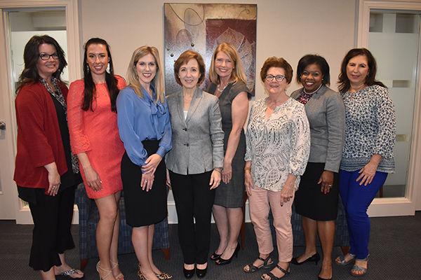 Photo by Derby Jones Caption Smart Women Middle Tennessee Advisory Board Members include Jill Burgin, Deb Enright, Cassie Jones, Lynn Tucker, Allena Bell and Janet Norman..JPG