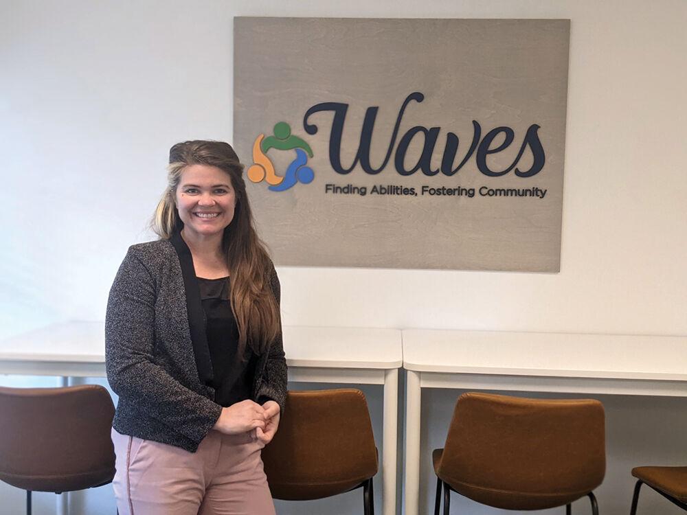 Waves, Inc. Community Relations and Development Director Staci Davis