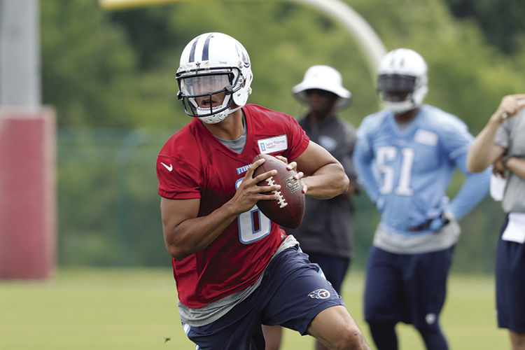Tennessee Titans Rookie practice