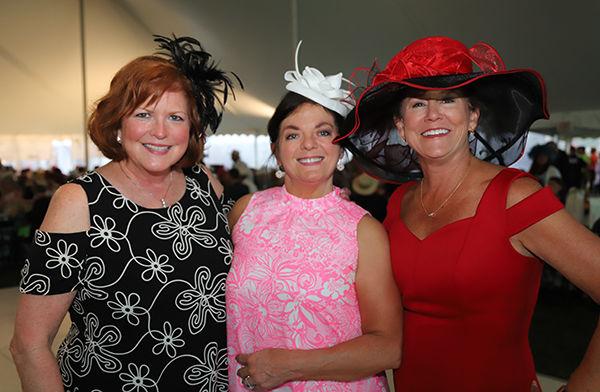 Jockeys & Juleps co-chairs Jill Luna, Lorrie Graves, Kathy Reynolds