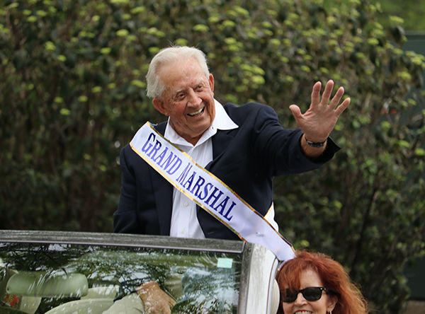 Longtime Brentwood resident Jim Redd served as Grand Marshall for the Golden Gallop Parade.