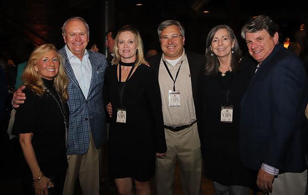 Karla and David Landrum, Lisa and Brian Beathard, and Hellen and Jeff Moseley.JPG