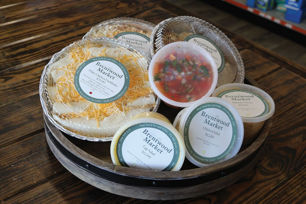 Healthy grab and go meals available