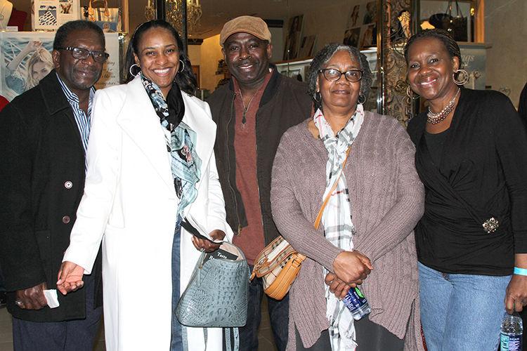 Henry Elliott, Francine Robison, Wille and Sheila Davis and Deborah McCrearty