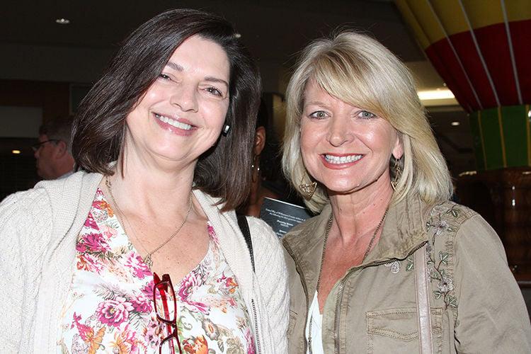 Lisa Hobgood and County Trustee Karen Paris