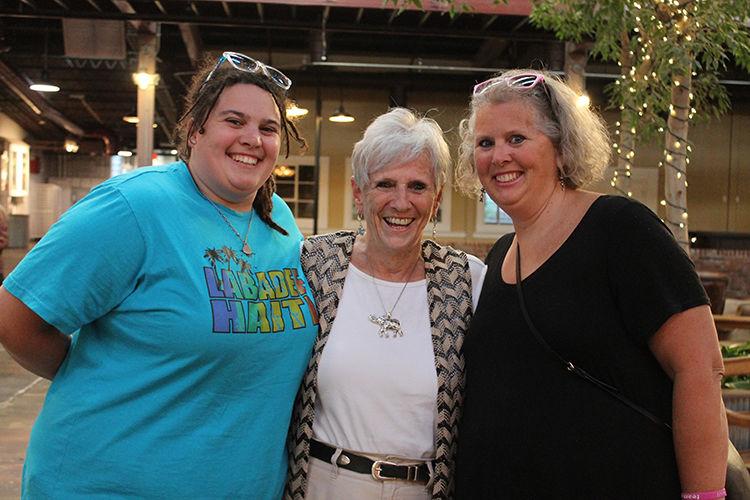 Three generations: Jen Kready, Sandi Inman and Tia Kready