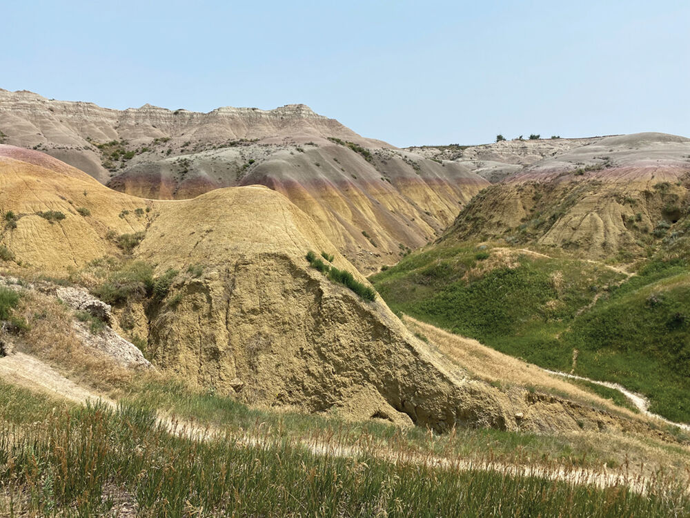Yellow Mounds Overlook, Badlands National Park