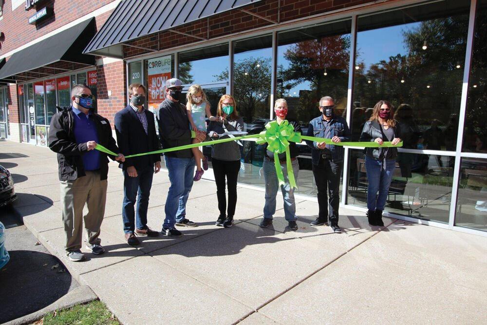 Williamson Inc. holds a ribbon cutting at CoreLife Eatery in Cool Springs