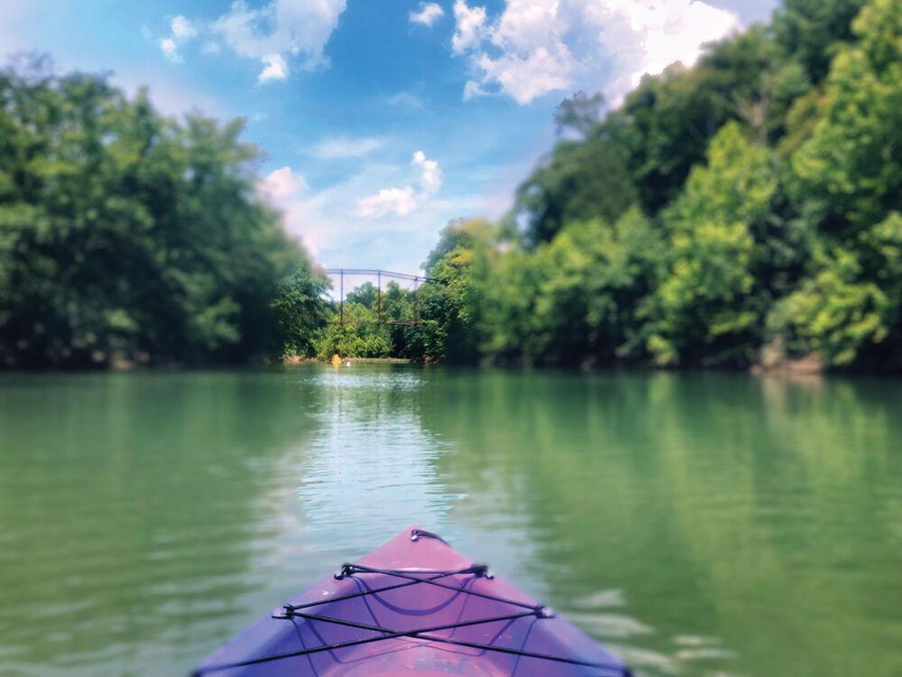 Kayaking the Buffalo River in Linden, TN