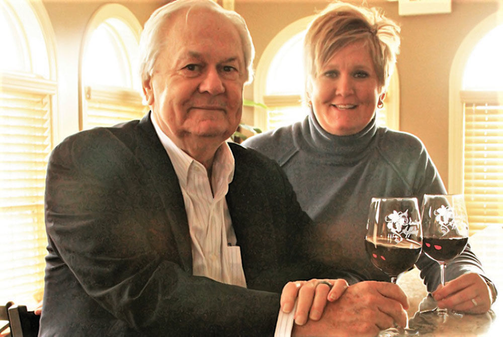 A Vintage Affair Founder, Ralph Drury with his daughter Carrie Drury, Executive Director