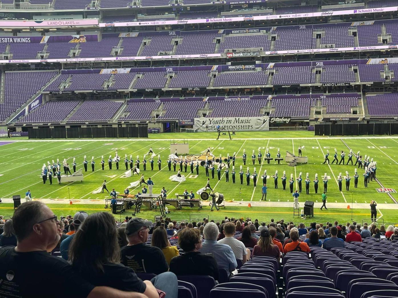 Marching Jays at US Bank Stadium