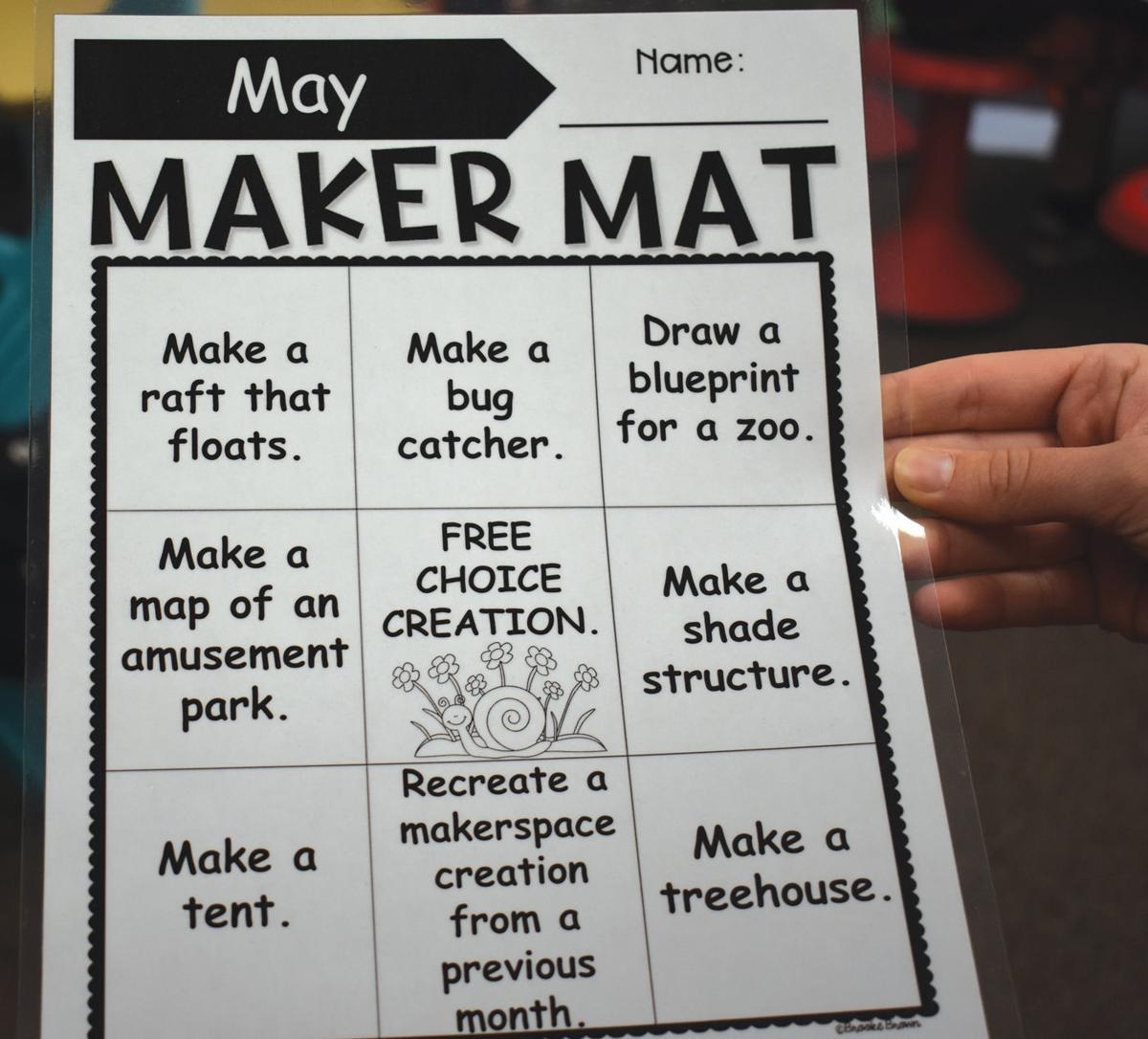 Blooming prairie elementary makerspace proves popular with students bp maker space 2 malvernweather Image collections