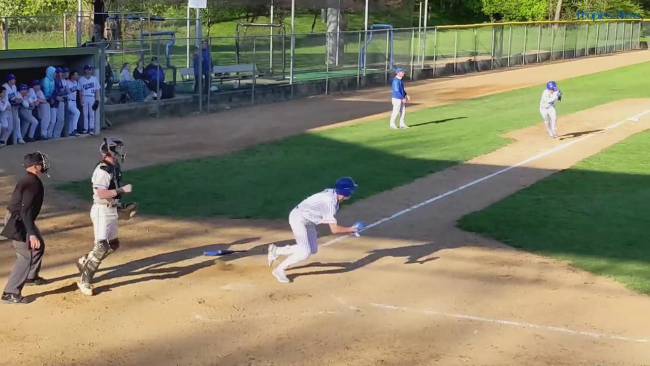 Owatonna senior Payton Beyer hits a walk-off, bases-loaded triple to defeat Rochester Mayo