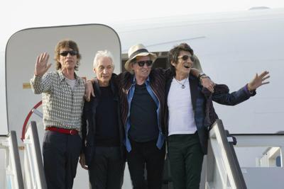 Britain Rolling Stones Trump