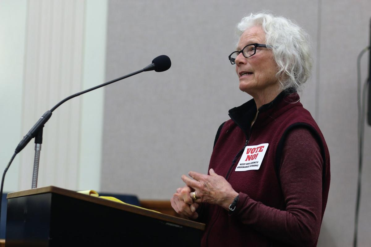 County Board upholds wording of farm zoning ordinance