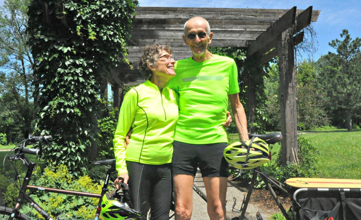 Continuing her journey: 80-year-old bike rider now at 25,000 miles