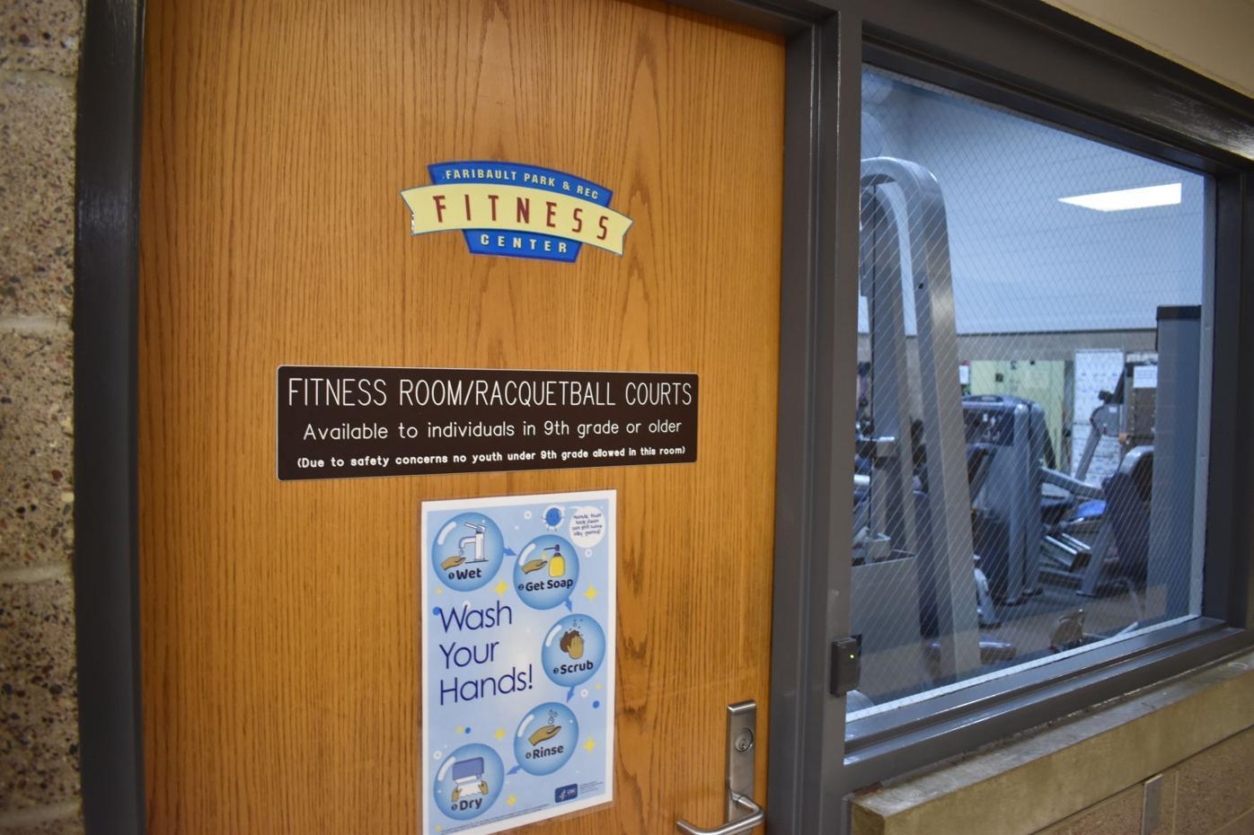 Community Center door