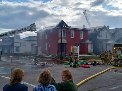 Waseca Realty fire