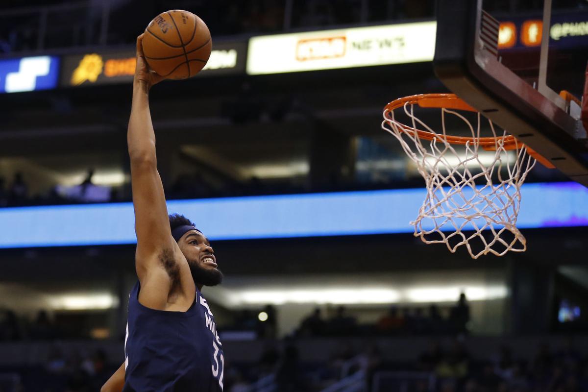 Timberwolves Suns Basketball