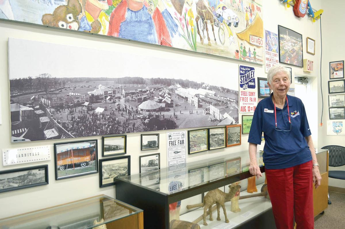 Growing up on the fair, Stark honored for 55-years of dedication