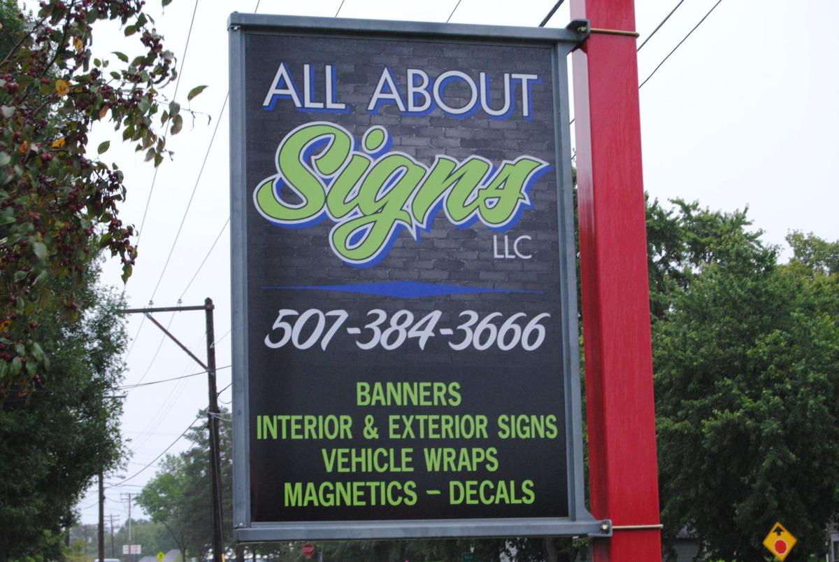 Faribault native brings signage experience to her hometown business