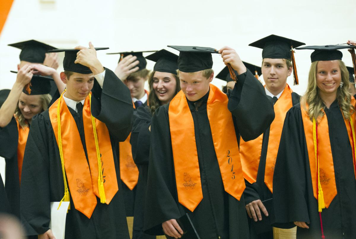 Cleveland School graduates 19   News   southernminn com