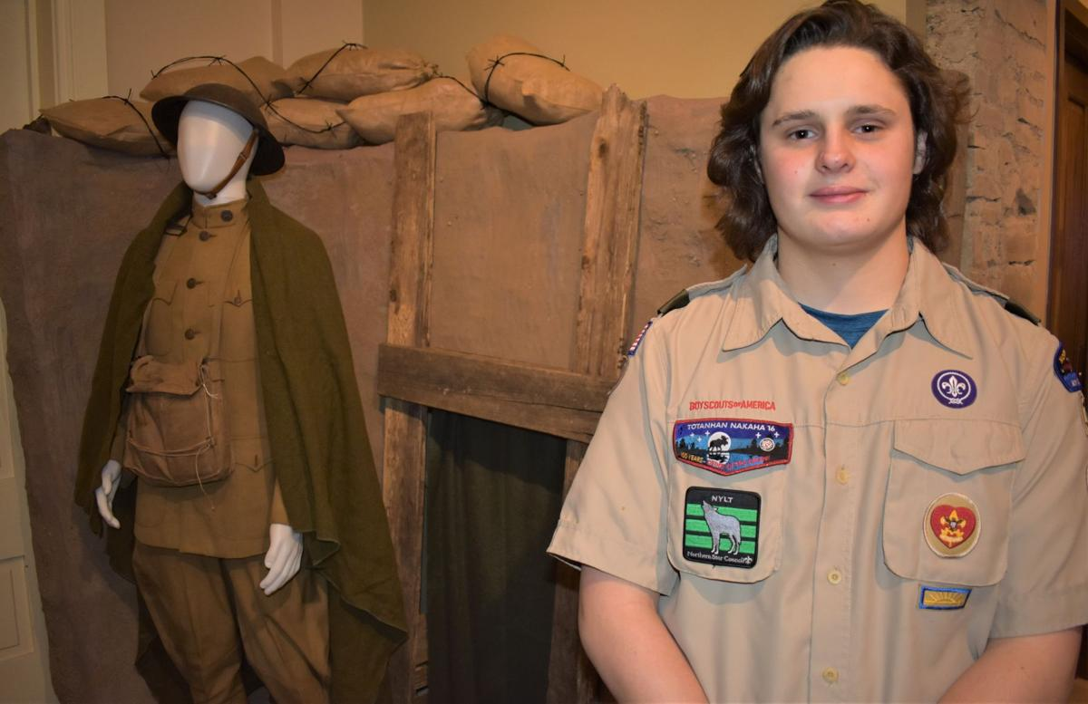 From the trenches: Scout's Eagle project benefits Historical Society