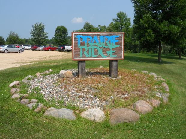 Before: Prairie Ridge Golf Course sign