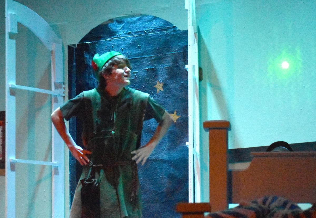 GALLERY: 'Peter Pan' comes in for a landing at Paradise Center
