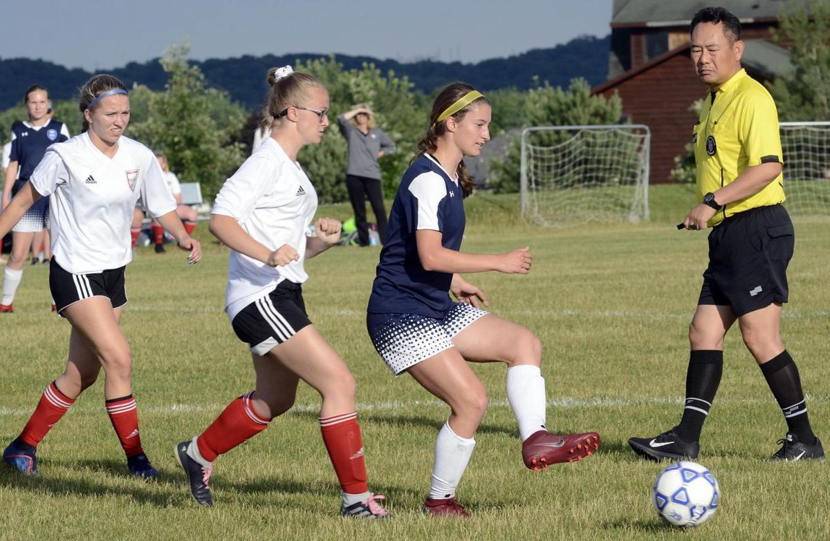St. Peter U18 girls soccer team ups to 7-1 with 3-0 win over Albert Lea