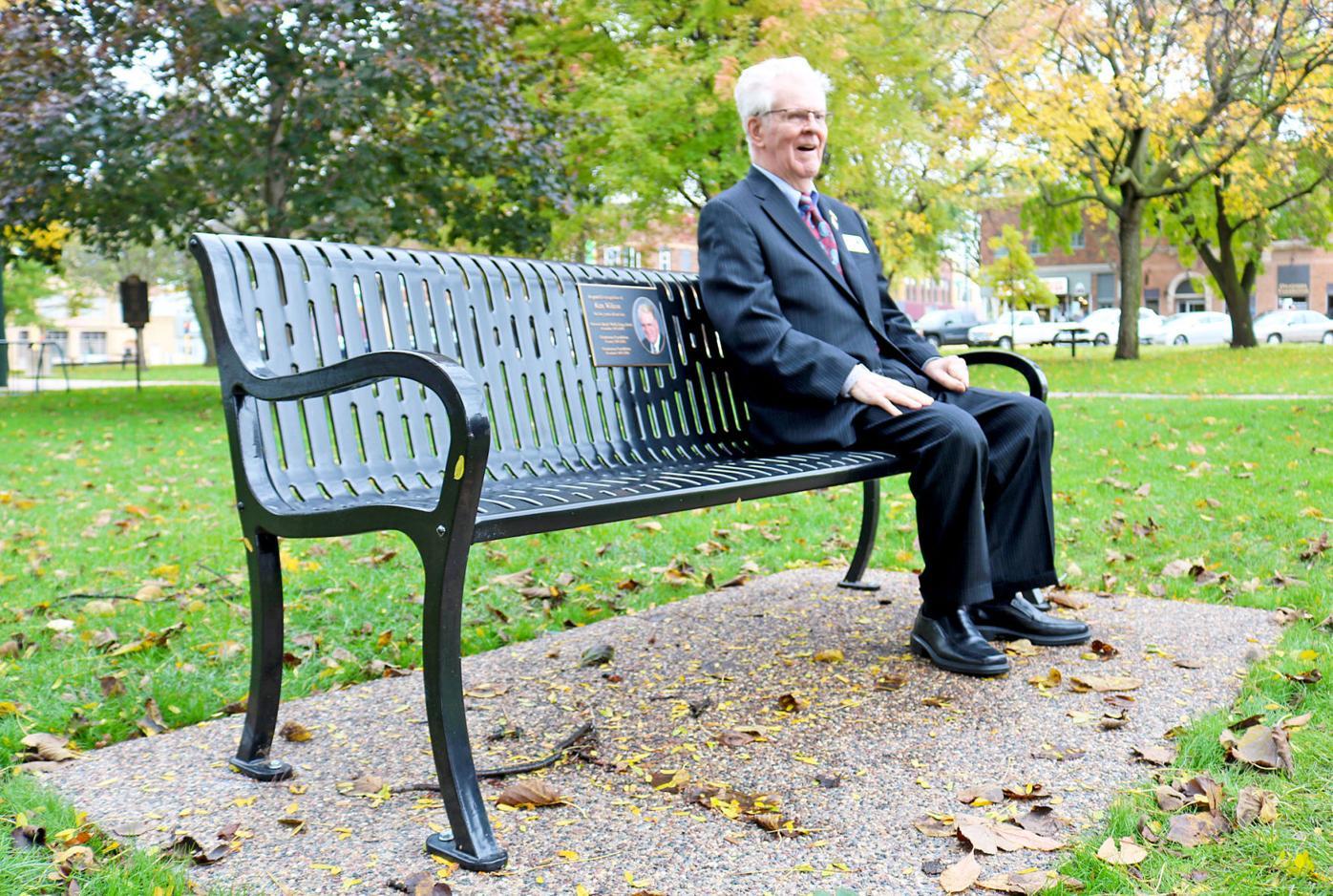 Ken Wilcox bench